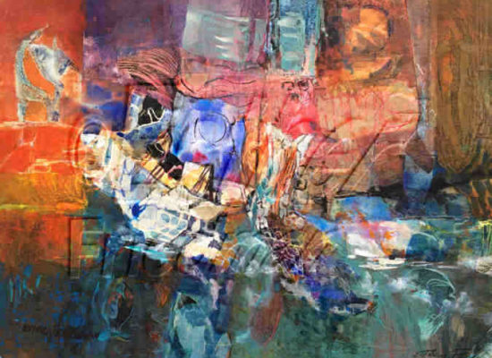 Esther Friedman Jewish Art - Is it Noah's Arc?