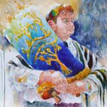 Esther Friedman Jewish Art Rabbi Cohen