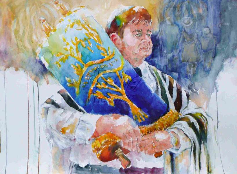 Esther Friedman Jewish Art Rabbi Cohen