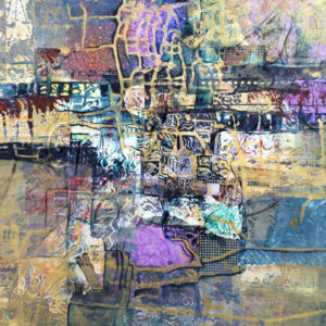 Around The Corner - Esther Friedman Modern Painting
