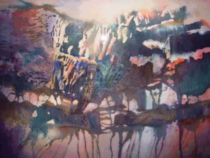 Mountain Glow - Esther Friedman Contemporary Art