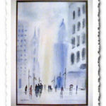 City Scape - Helena Castro Painting