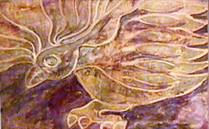 Houston Texas Artist Helena Castro Painting Nature - Eagle