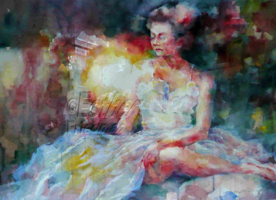Ballerina Quite Moment-Esther Friedman Texas Art