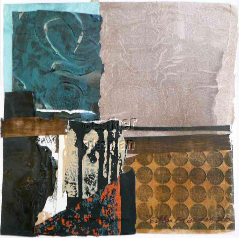 Candle Domino - Esther Friedman Modern Art