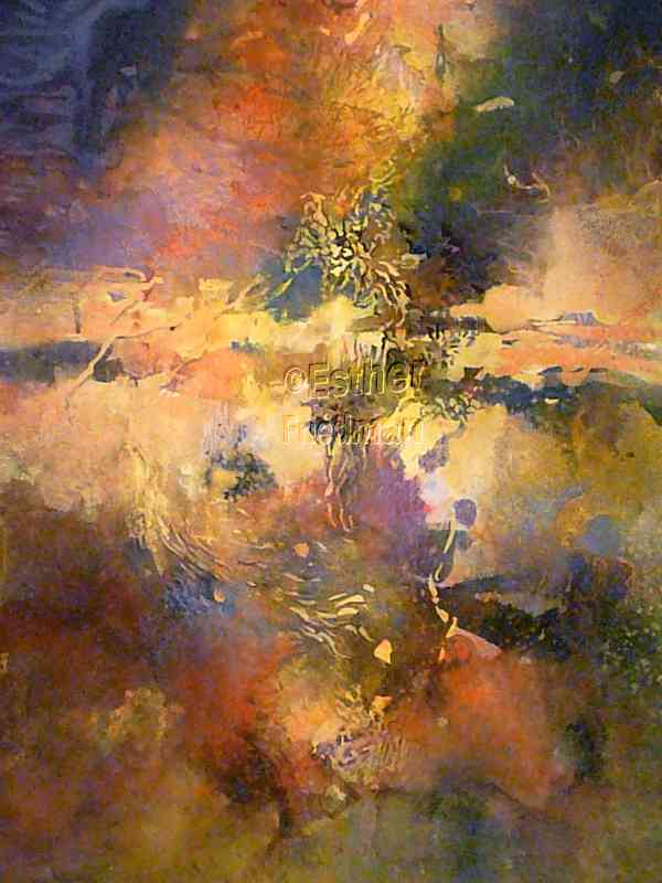Canyon Sunset Rainbow - Esther Friedman Contemorary Art