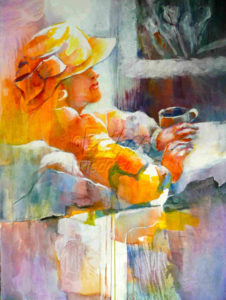 Cup of Coffee-Esther Friedman Texas Art