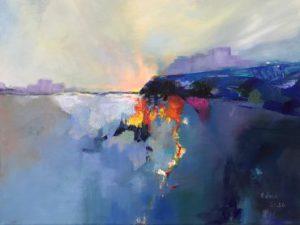 Deep Blue - Edna Goldstein Art