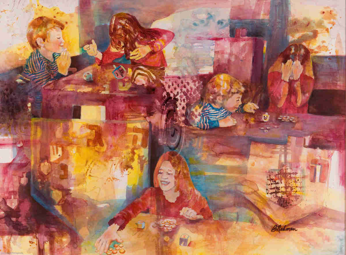 Dreydel - Barbara Nehman
