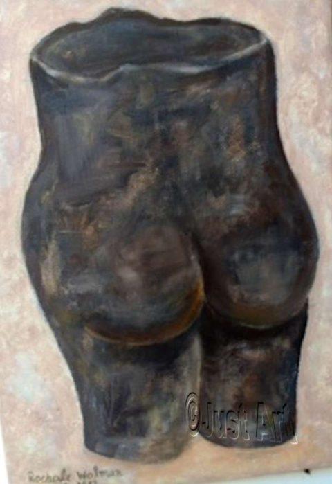 Figure Statue - Rachel Wolman Art