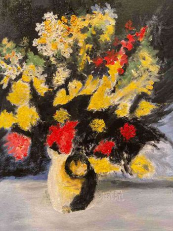 Flower Vase - Horacio Marull Art