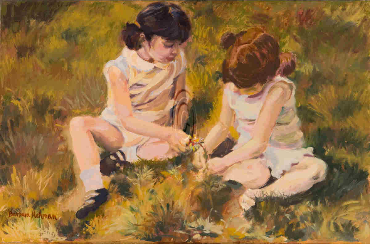 Friends - Barbara Nehman Texas Artist