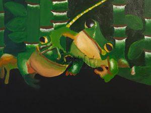 Frogs - Ilan Sela Art