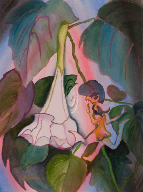 Garden Sprite - Barbara Nehman Texas Artist