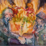Handshake for Peace - Barbara Nehman Texas Artist