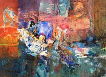 Is it Noah's Arc? Esther Friedman Modern Art
