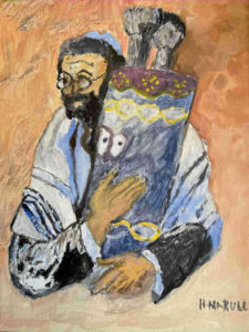 Jewish Rabbi - Horacio Marull Art