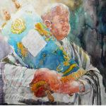 Painting Jewish Rabbi Step 5
