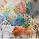Painting Jewish Rabbi Step 6