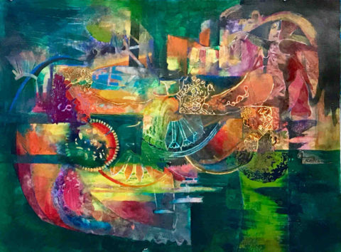 Abstract - Mary Truelove Art