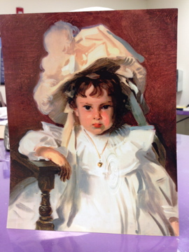 Dorthy Tribute to Sargent's - Mary Truelove Painting