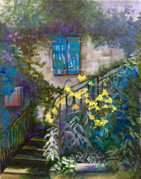 French Welcome - Mary Truelove Art