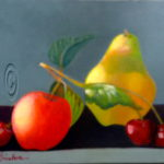Fruit Still Life - Mary Truelove Painting