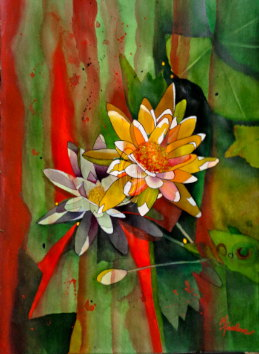 Mary Truelove Lillies Texas Art
