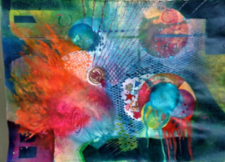 Outer Edge - Mary Truelove Abstract Art Plano, Texas