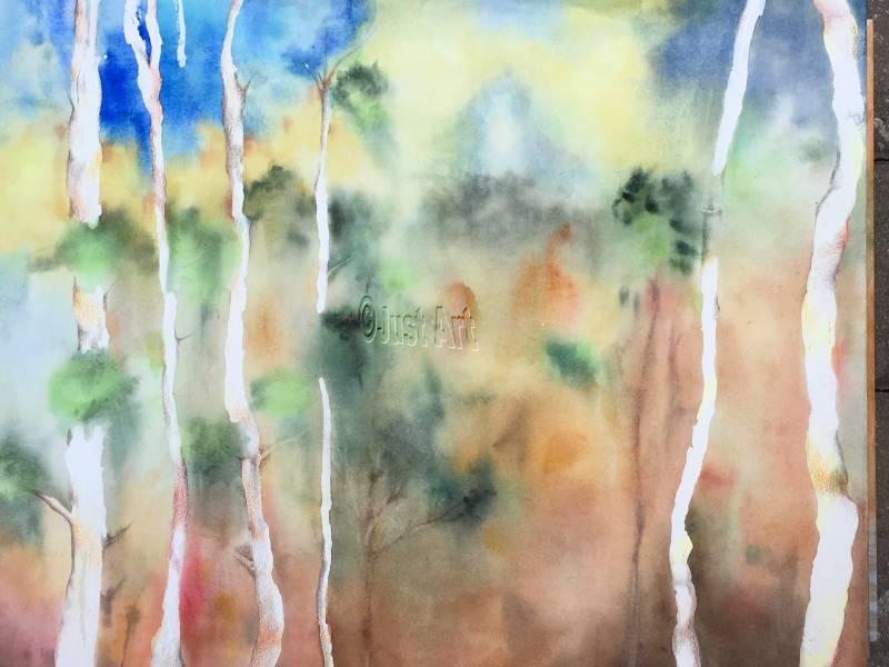 Mystic Trees - Edna Goldstein Art
