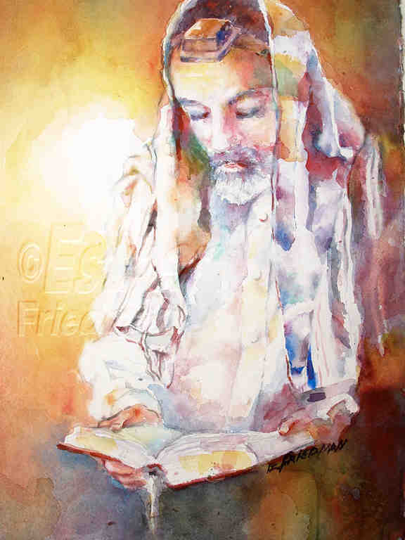Prayer - Esther Friedman Jewish Art