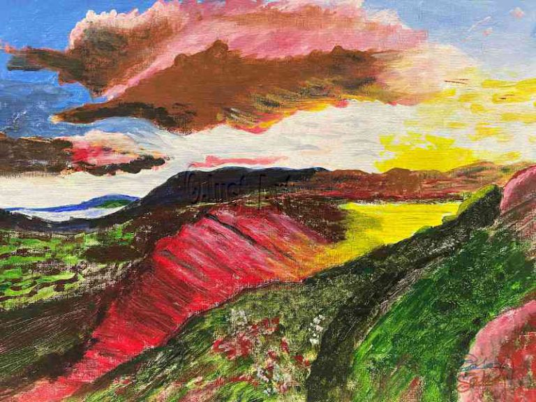 Red Yellow Mountains - Saul Sokol