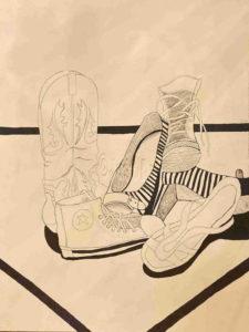Shoes - Ilan Sela Graphic Art