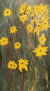 Texas Yellow Daisies - Horacio Marull Art