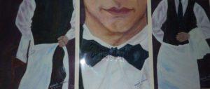 Waiter - Rachel Wolman Art