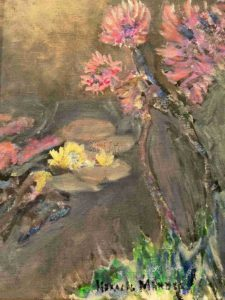 Wild Flowers in Pink and Yellow - Horacio Marull Art